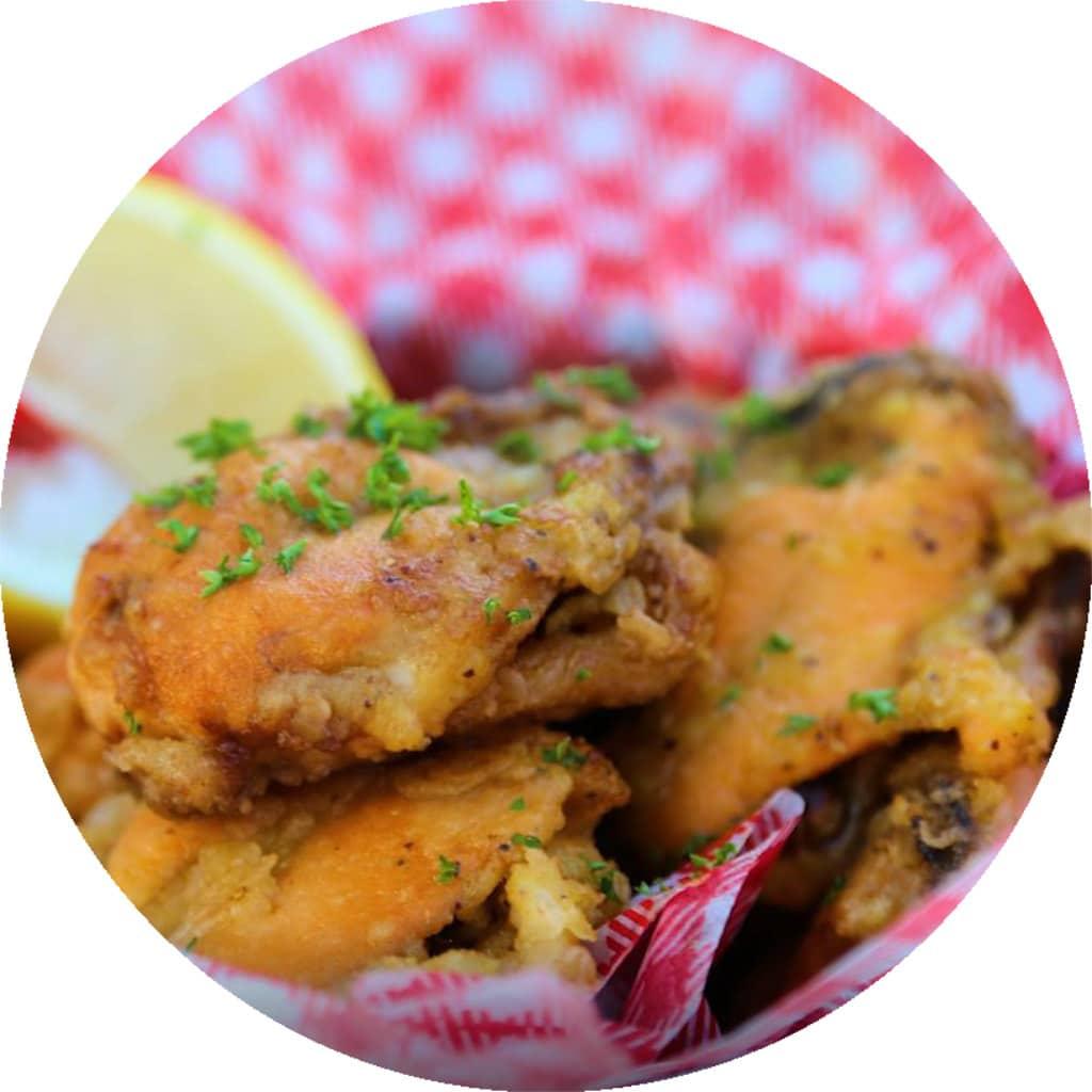 Pan-Fried Lemon Pepper Mussels recipe