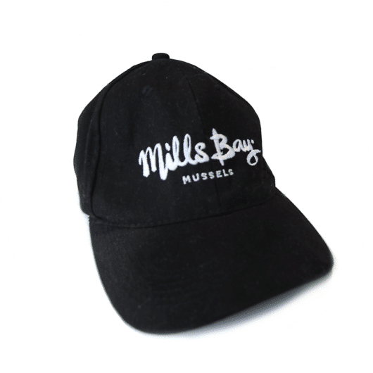 Mills Bay Mussels Cap, keep the sun off