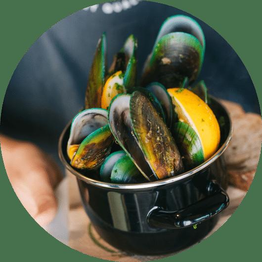 Mills Bay Mussels Tasting Room & Eatery